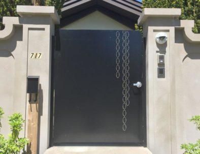 Aluminum Pedestrian Door, West Vancouver