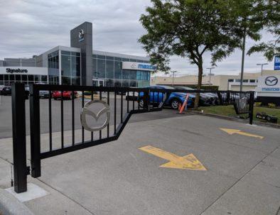 Custom Barrier Gates, Mazda, Richmond