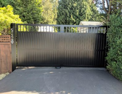 Double Swing Privacy Gate, Langley