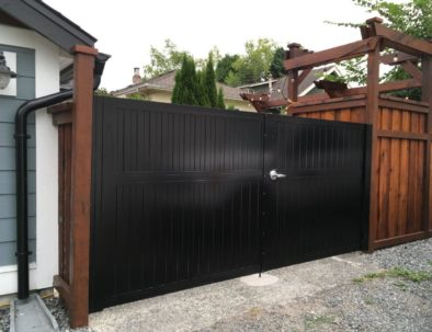 Aluminum Double Swing Gate, Vancouver