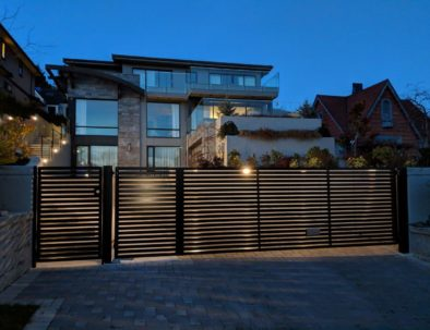 Automated Driveway Gate, West Vancouver