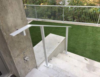 Aluminum Handrail, West Vancouver