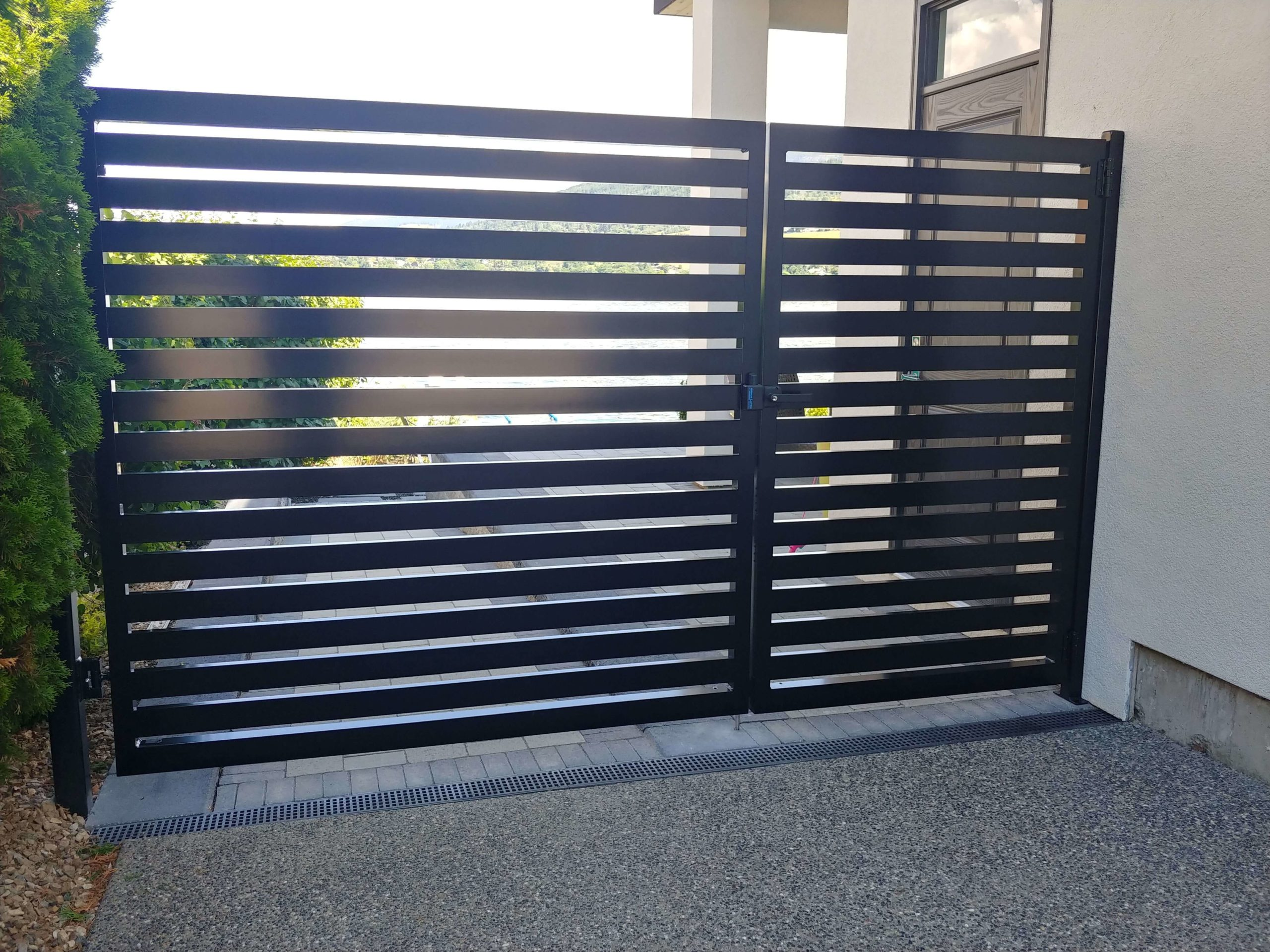 Aluminum Pedestrian Gate & Fence Panel, Surrey