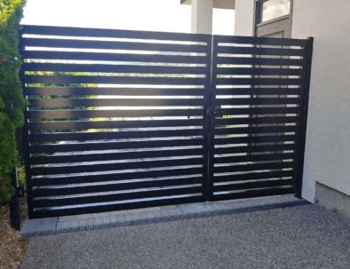 Aluminum Pedestrian Gate and Fence Panel, Vernon