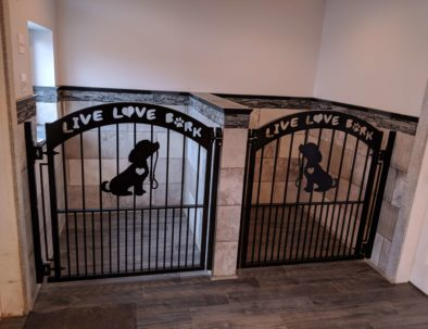Custom Iron Gates, Darling Dogs, Langley