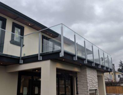 Glass Deck Railings, Richmond