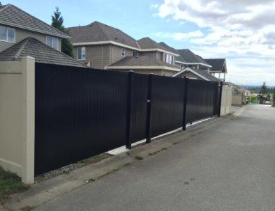 Laneway Access Privacy Gates, Vancouver