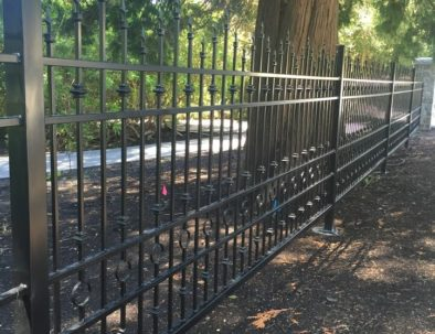 Wrought Iron Fencing, South Surrey