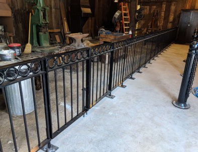 Wrought Iron Fencing, Burnaby Village Museum