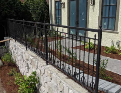 Wrought Iron Guardrail, Vancouver